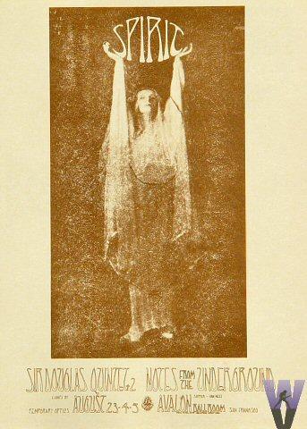 Spirit Handbill