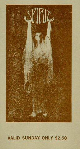 Spirit Vintage Ticket