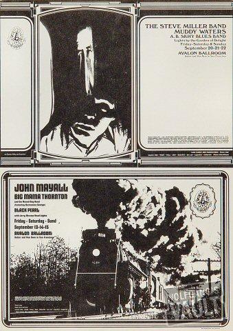 John Mayall Postcard