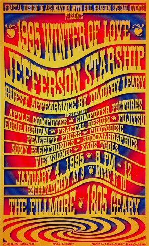 Jefferson Starship Poster