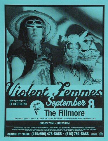 Violent Femmes Handbill