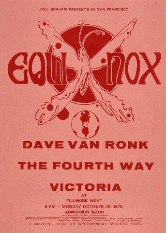 Dave Van Ronk Handbill