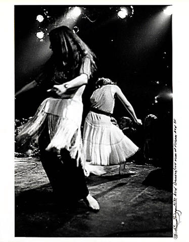 Dancers Vintage Print