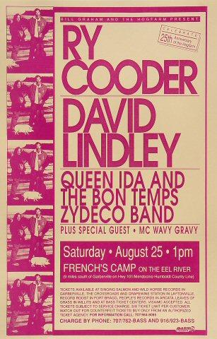 Ry Cooder Poster
