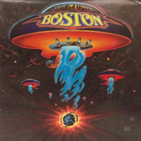 "Boston Vinyl 12"" (Used)"