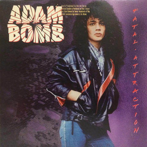 """Adam Bomb Vinyl 12"""" (Used)"""