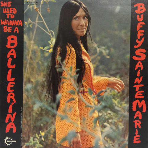 "Buffy Sainte-Marie Vinyl 12"" (Used)"