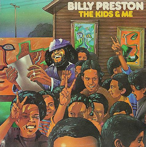 """Billy Preston Vinyl 12"""" (Used)"""