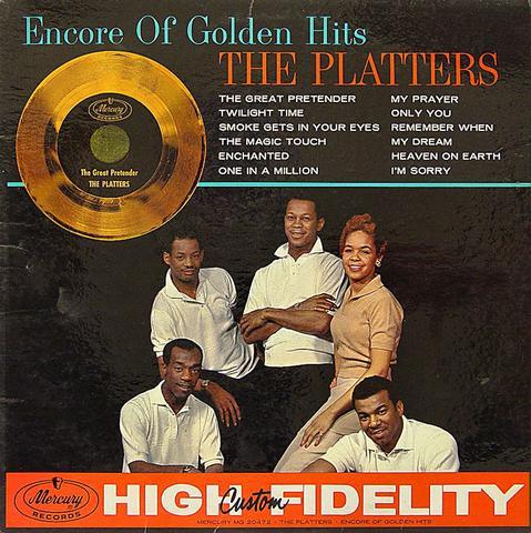 "The Platters Vinyl 12"" (Used)"