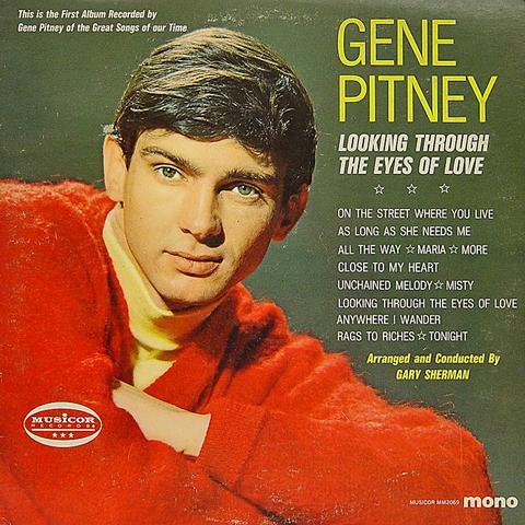 """Gene Pitney Vinyl 12"""" (Used)"""