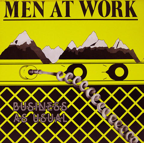 "Men at Work Vinyl 12"" (Used)"