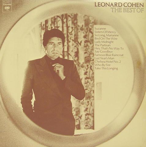 "Leonard Cohen Vinyl 12"" (Used)"