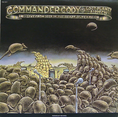 "Commander Cody & His Lost Planet Airmen Vinyl 12"" (Used)"