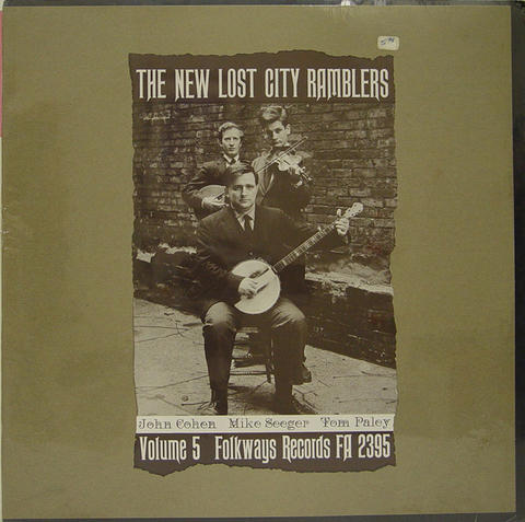 "The New Lost City Ramblers Vinyl 12"" (New)"