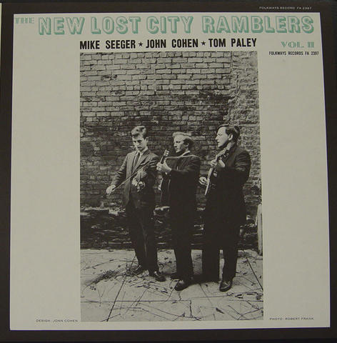 """The New Lost City Ramblers Vinyl 12"""" (Used)"""