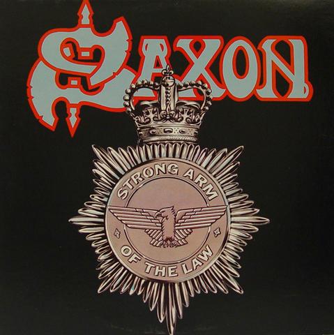 "Saxon Vinyl 12"" (Used)"
