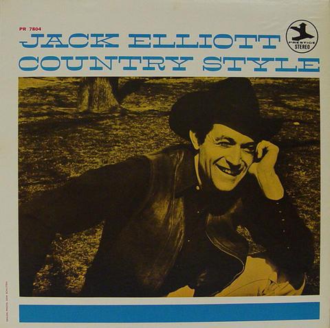 """Jack Elliot Vinyl 12"""" (Used)"""