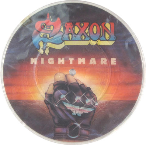 "Saxon Vinyl 7"" (Used)"