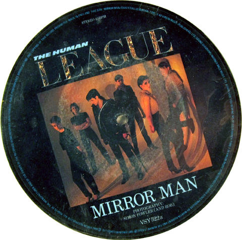 "The Human League Vinyl 7"" (Used)"