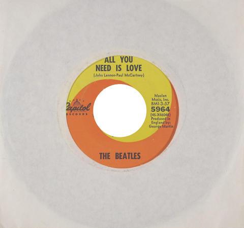 "The Beatles Vinyl 7"" (Used)"