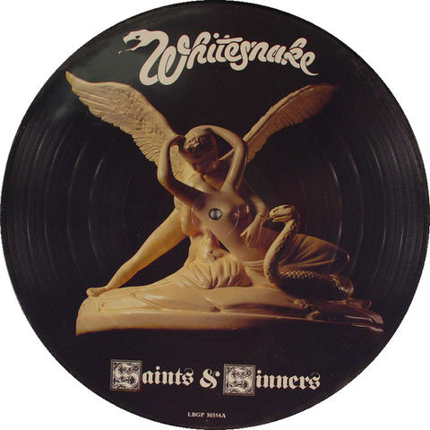 "Whitesnake Vinyl 12"" (New)"