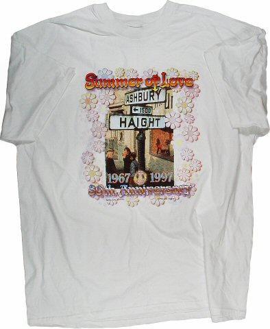 Haight Ashbury Street Sign Men's Vintage T-Shirt
