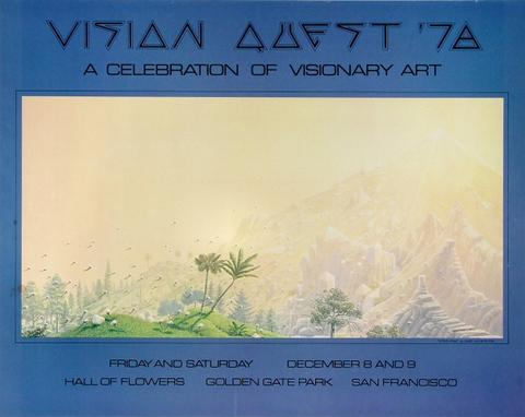 Vision Quest '78 - a Celebration of Visionary Art Poster