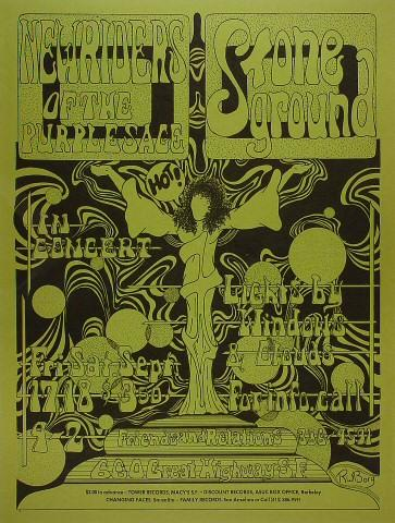 The New Riders of the Purple Sage Poster