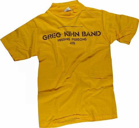 Greg Kihn Band Men's Vintage T-Shirt