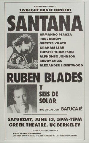 Santana Poster