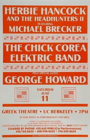 Herbie Hancock & the Headhunters II Poster