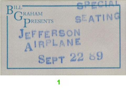 Jefferson Airplane Backstage Pass