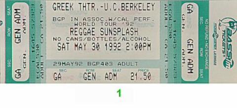 Aswad Vintage Ticket