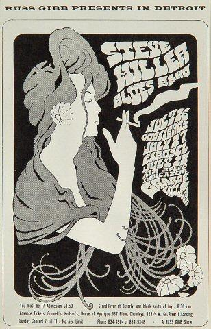 The Steve Miller Blues Band Postcard