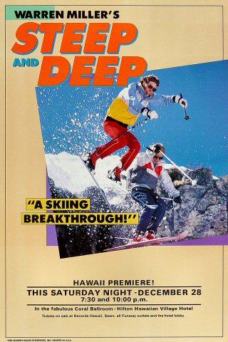 Warren Miller's Steep and Deep Poster