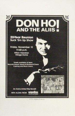 Don Ho Poster