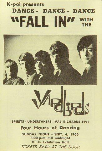 Yardbirds Program