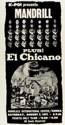Mandrill Poster