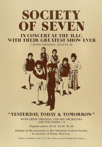 The Society of Seven Poster