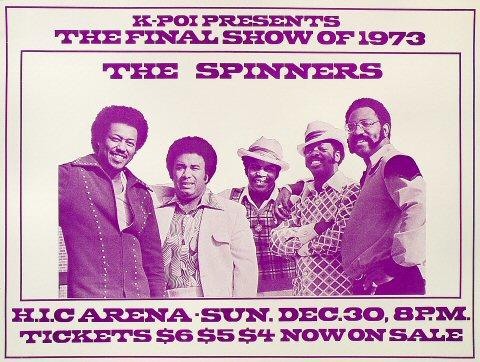 The Spinners Poster