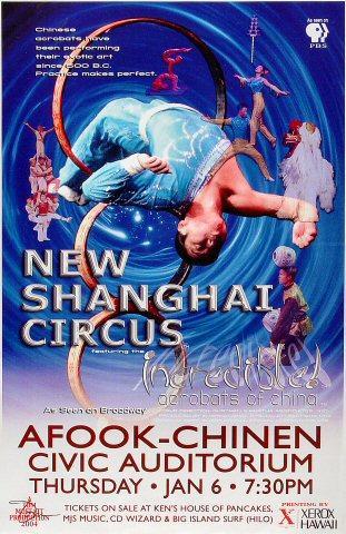 Incredible Acrobats of China Poster