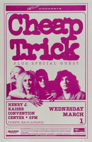 Cheap Trick Poster