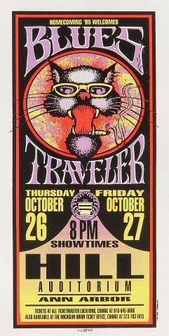 Blues Traveler Handbill