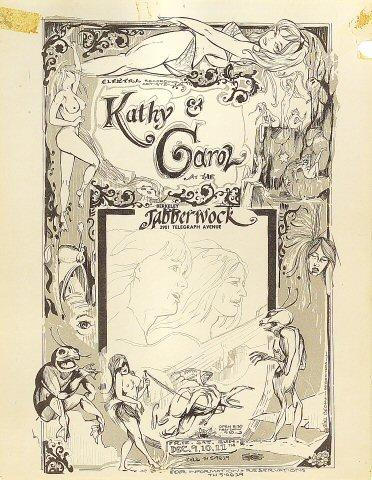 Kathy & Carol Handbill