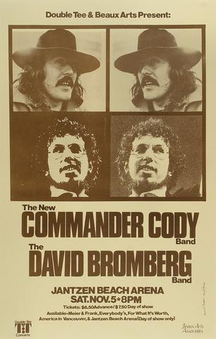 Commander Cody Poster