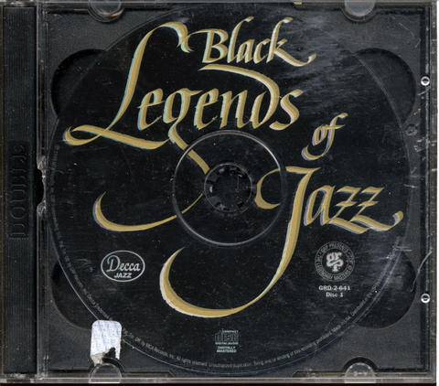 Black Legends Of Jazz CD