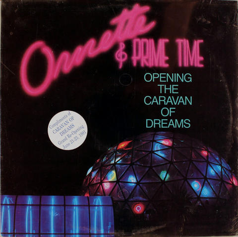 "Ornette Coleman And Prime Time Vinyl 12"" (New)"