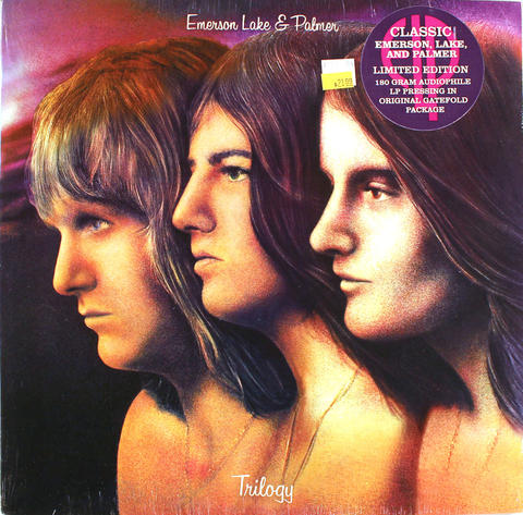 "Emerson, Lake & Palmer Vinyl 12"" (New)"
