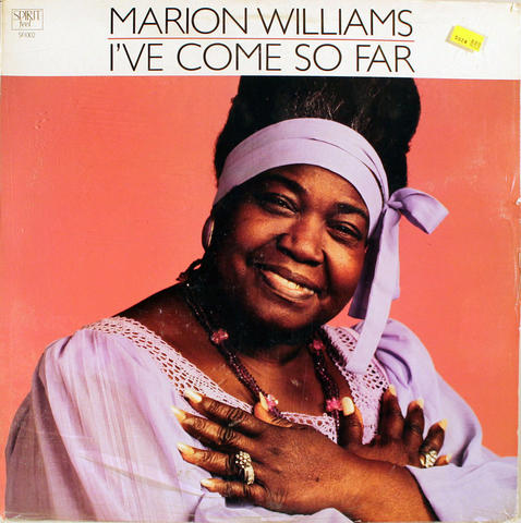 "Marion Williams Vinyl 12"" (New)"