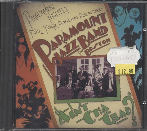 Paramount Jazz Band Of Boston CD
